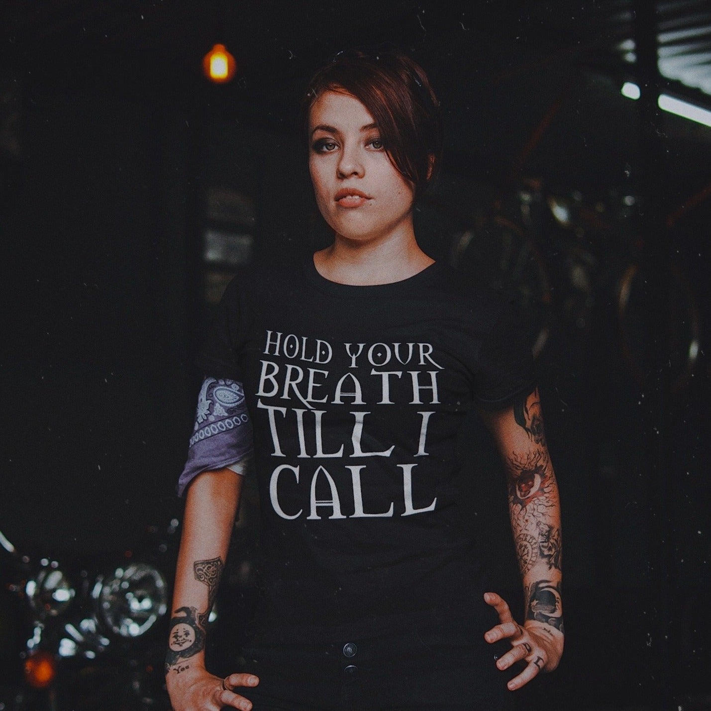 Hold Your Breath Till I Call... - The Craft Inspired Horror Movie Unisex Tee