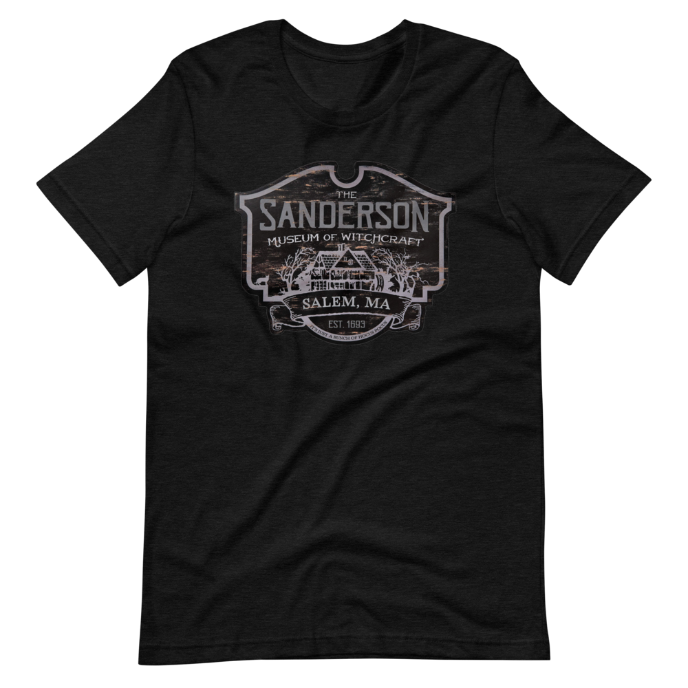 The Sanderson Museum of Witchcraft - Hocus Pocus Salem Witch Inspired Short-Sleeve Unisex T-Shirt