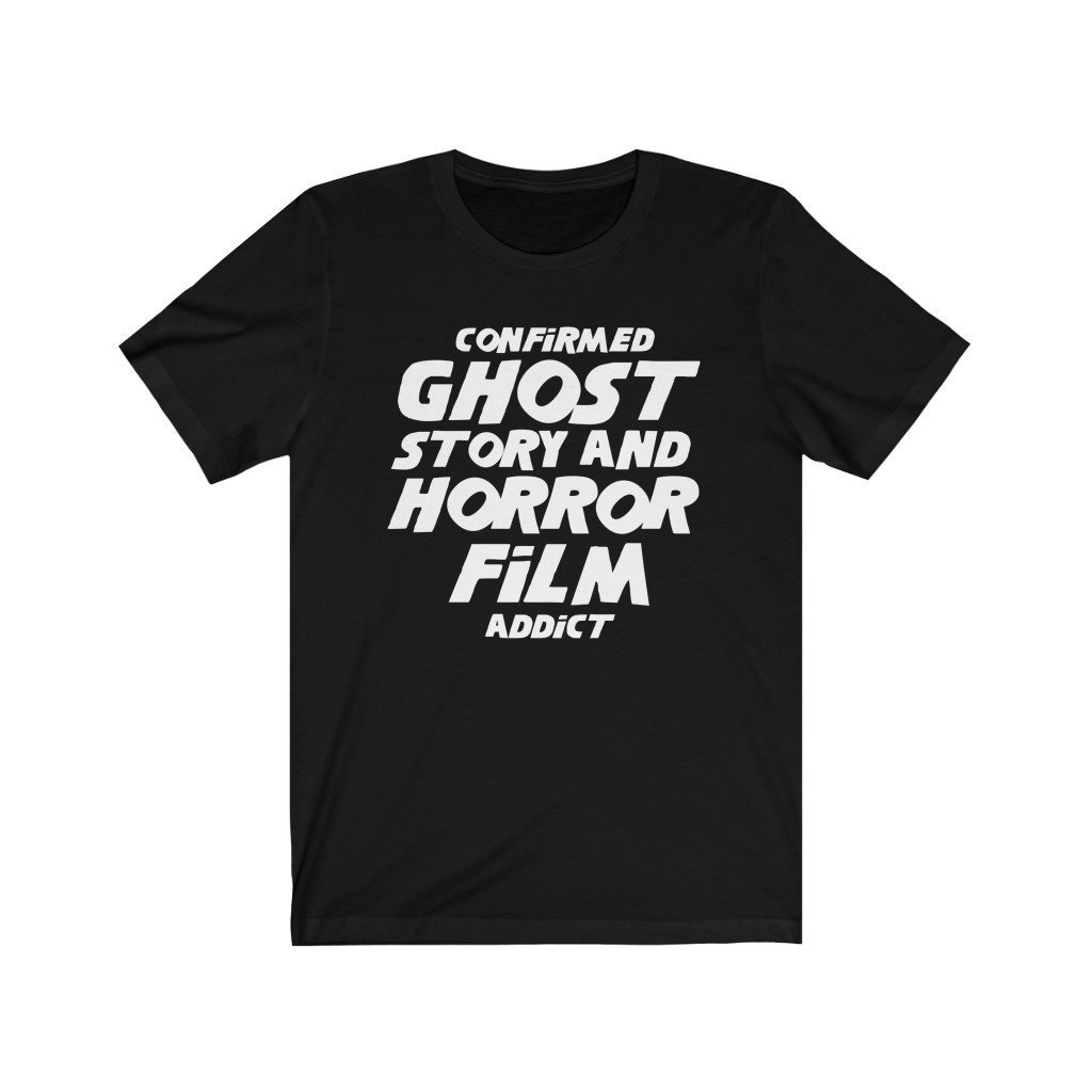 T-Shirt - Confirmed Ghost Story And Horror Film Addict - The Shining-Inspired Unisex Tee