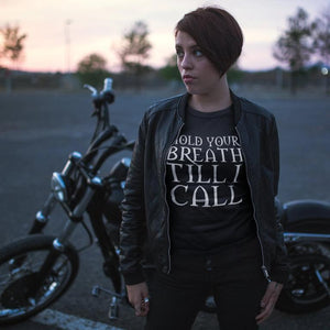 Tshirt - Hold Your Breath Till I Call... - The Craft Inspired Horror Movie Unisex Tee