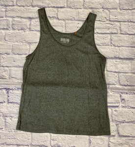 Pure energy heathered grey sleep tank top.  Slight stretch, like new.