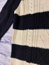 Load image into Gallery viewer, Chaps Striped Knit Sweater