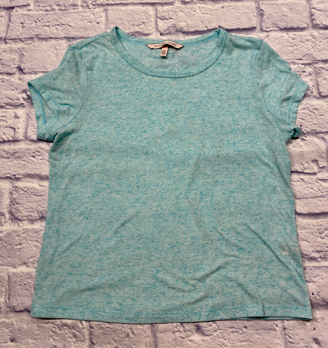Victoria's Secret turquoise heathered sleep shirt.  Very soft and a little sheer.