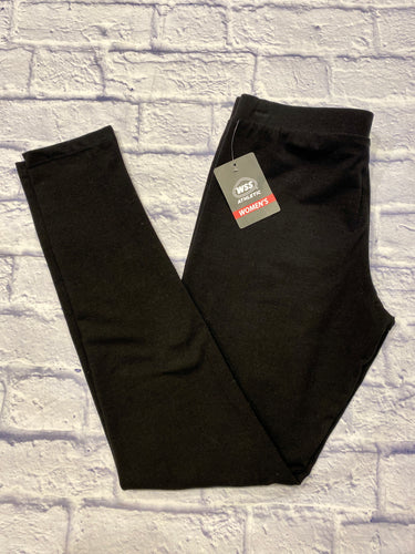 WSS black active leggings with elastic waist.  New with tags.