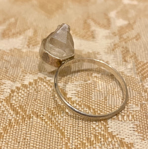 Beach Bones Jewelry Quartz and Sterling Silver Ring