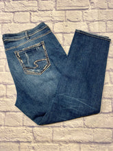 Load image into Gallery viewer, Silver Straight Leg Jeans