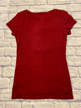 Load image into Gallery viewer, Aeropostale Pleat Button T-Shirt