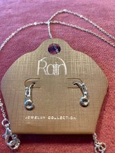 Load image into Gallery viewer, Rain Jewelry Silver Clear Y Necklace Set