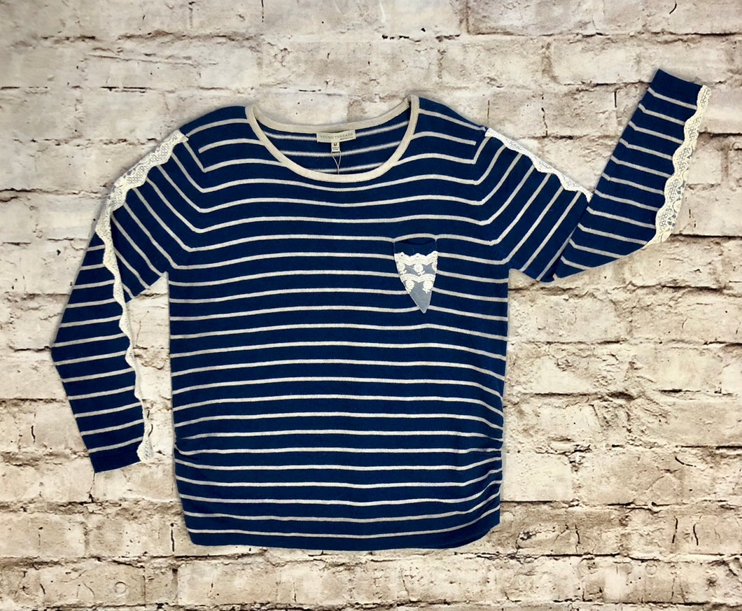 Young Threads Striped Sweater