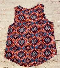 Load image into Gallery viewer, Xhilaration Aztec Print and Lace Tank