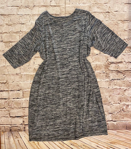 Woman Within 3/4 Sleeve Dress with Pockets