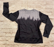 Load image into Gallery viewer, Forest Color Block Long Sleeve Top