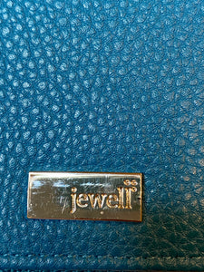 Jewell Leather Wristlet