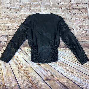 Leatherette by BB Jeans Faux Leather Jacket
