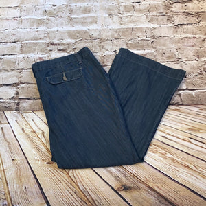 Venezia Wide Leg Denim Pants