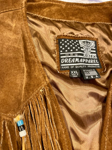 Biker's Dream Apparel Suede Fringe Vest