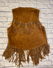 Load image into Gallery viewer, Biker's Dream Apparel Suede Fringe Vest