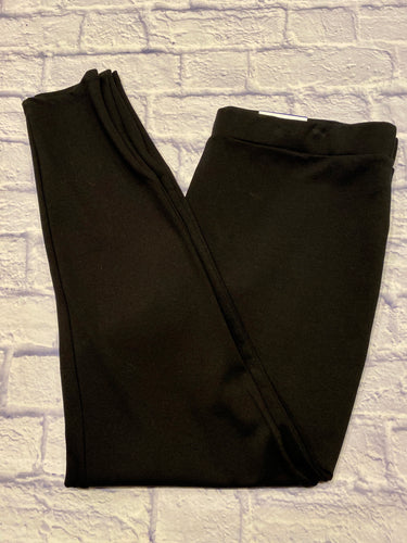 Popsugar black pull on leggings with zip bottoms.  Super soft with some stretch, new with tags.