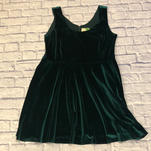 Fervour Velour Skater Dress