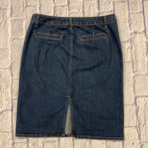 Old Navy Straight Fit Jean Skirt