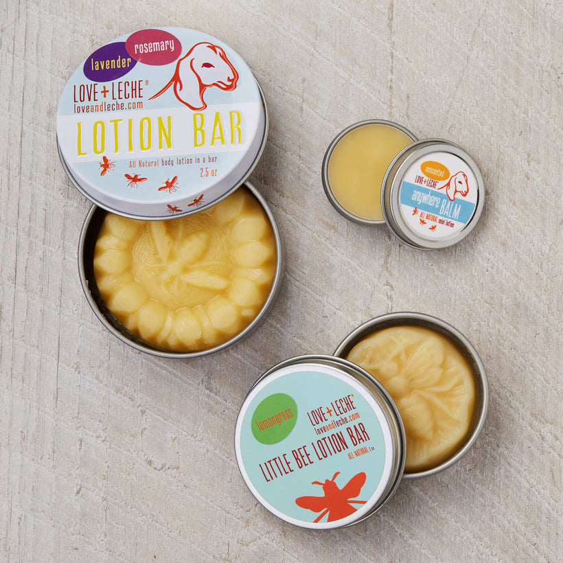 All Natural, Handmade Lotion Bars