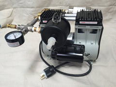 Complete Milking Machine for Goats/Sheep/Nigerian Dwarf w/ Welch 2858B-01 Vacuum Pump - Affordable Milkers LLC  - 5