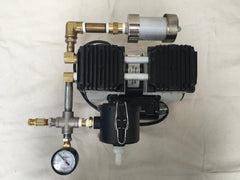 Complete Milking Machine for Goats/Sheep/Nigerian Dwarf w/ Welch 2858B-01 Vacuum Pump - Affordable Milkers LLC  - 6