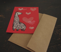 Valentine cards (set of 8)