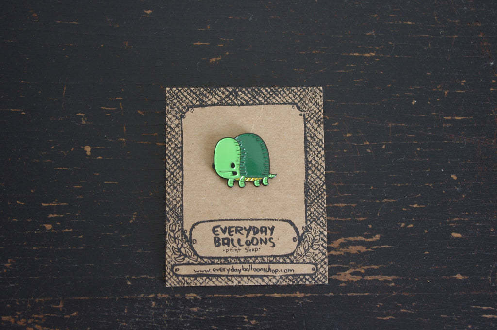 turtle enamel pin
