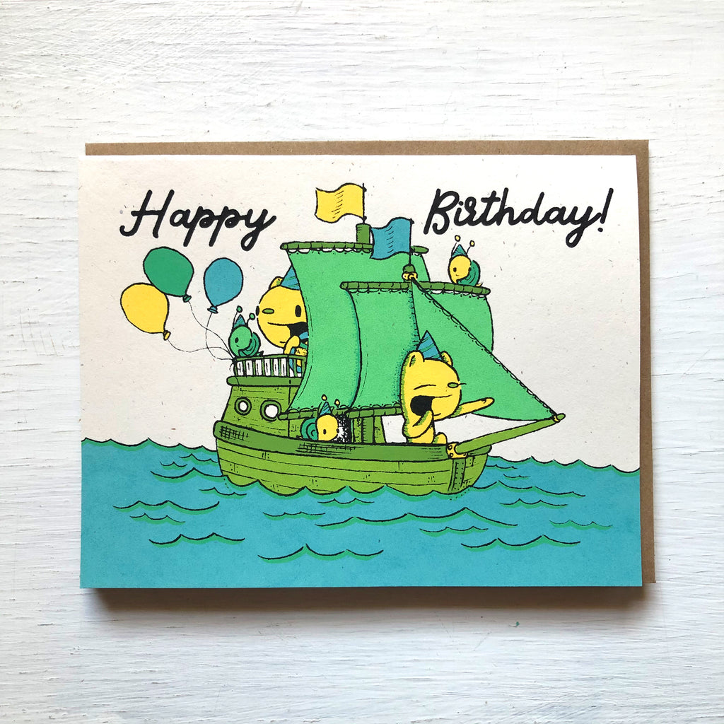 shipmates birthday card