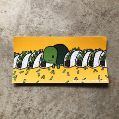 Taco Turtle Bumper Sticker