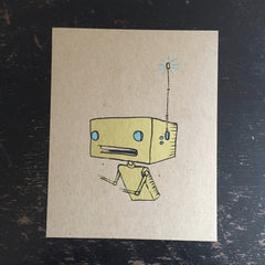 robot screen print