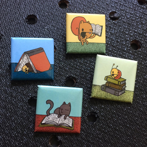 square reading pins