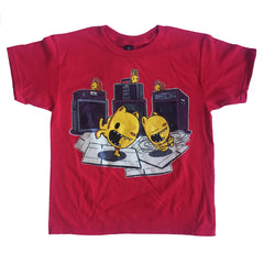 breakdancing bears youth t-shirt