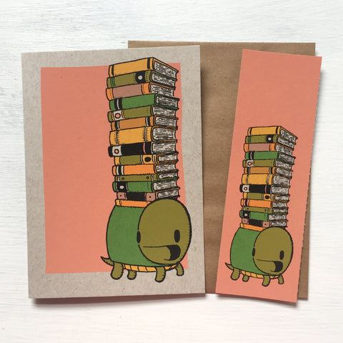 turtle bookmark card