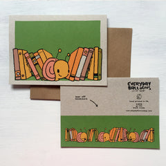 snail bookmark card