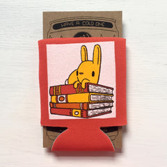 bunny with books can coolie