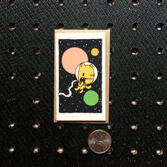astronaut mini card