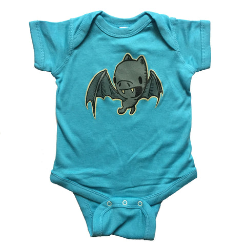bat one piece bodysuit