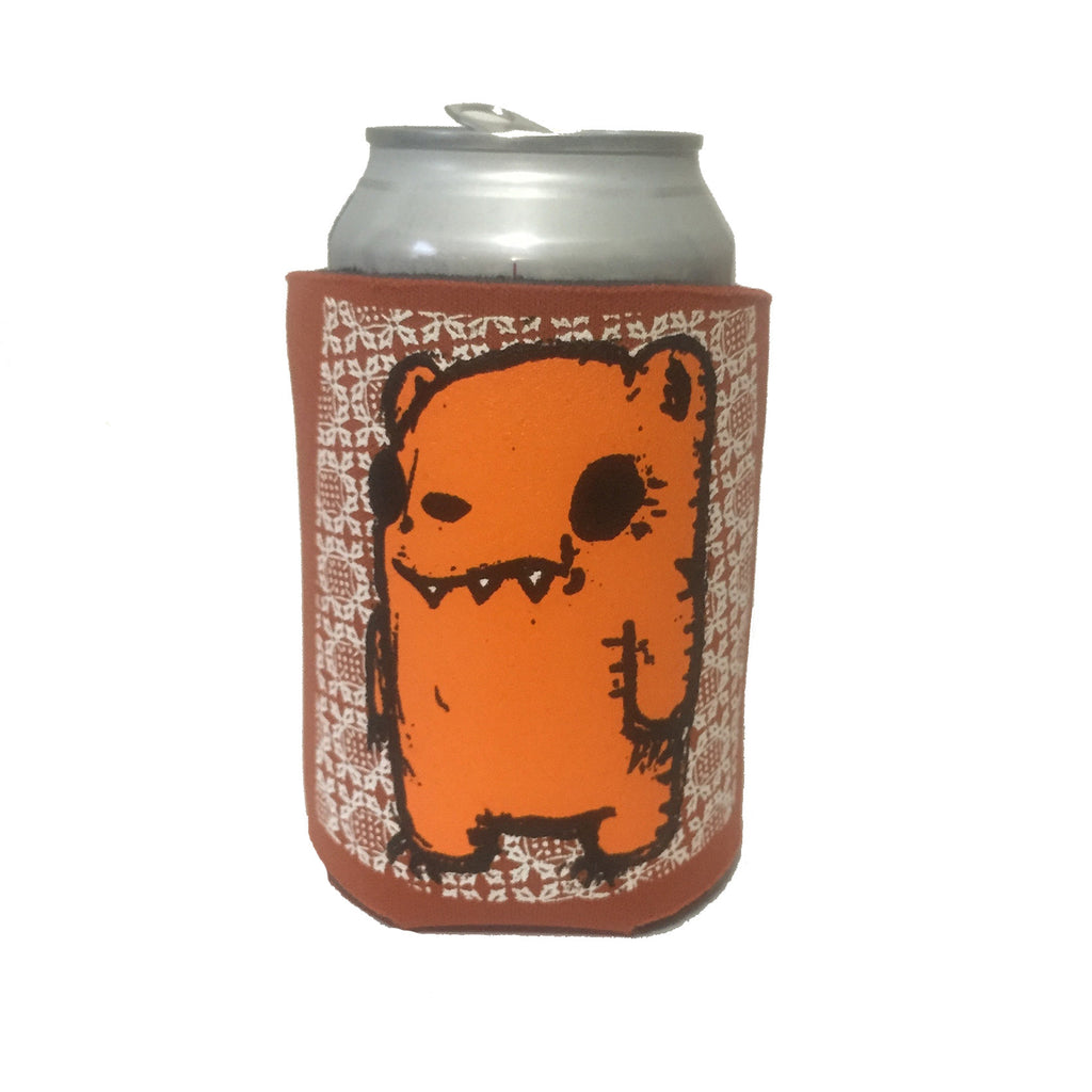 bear can coolie, bear koozie