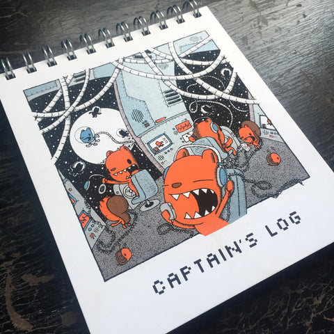 captain's log sketchbook