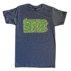 pennsylvania foliage friends t-shirt