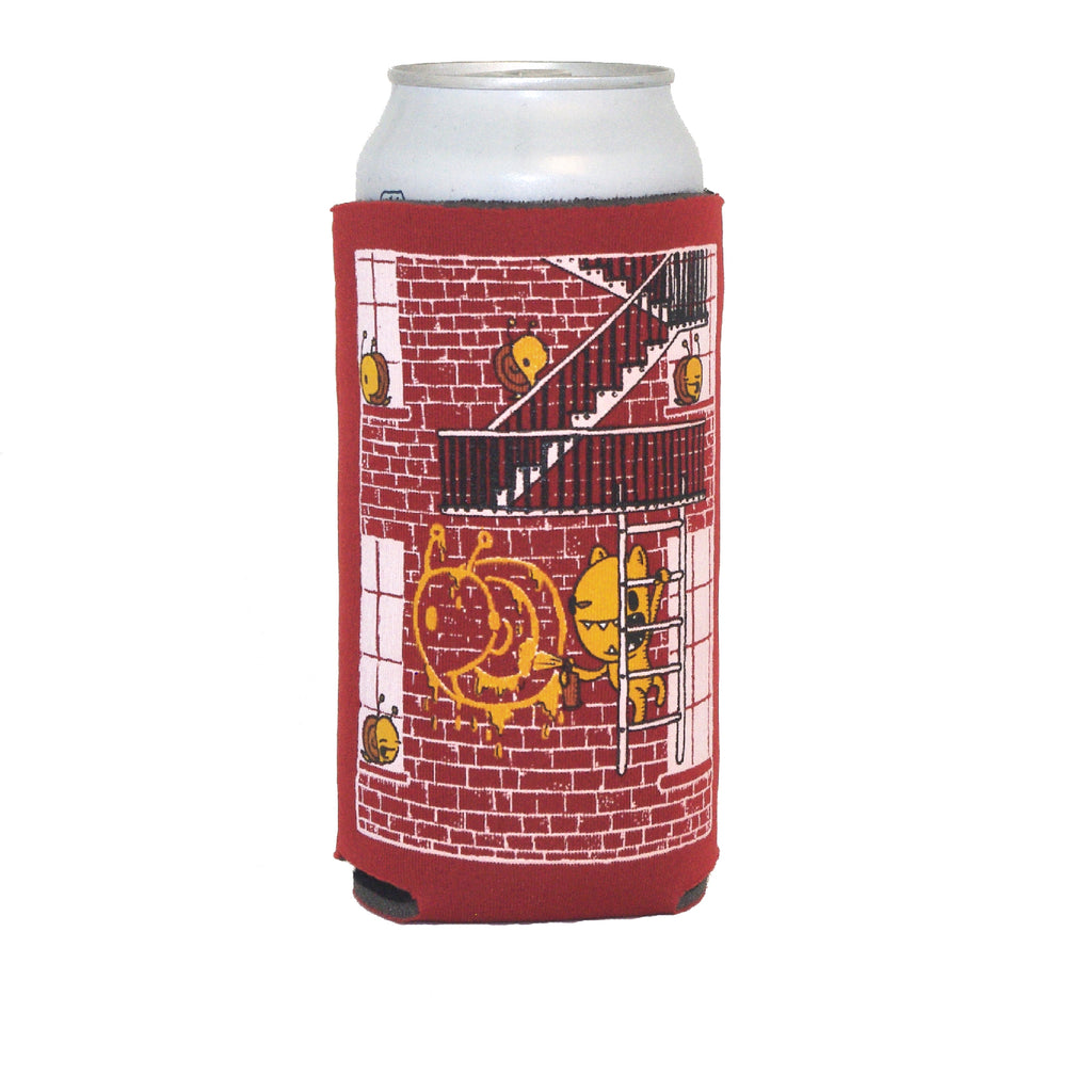 graffiti 16oz can coolie