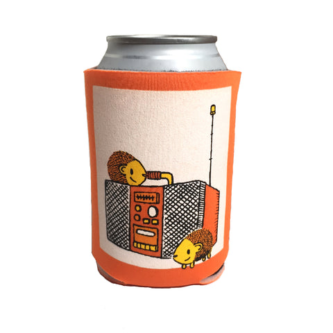 hedgehogs boombox can coolie