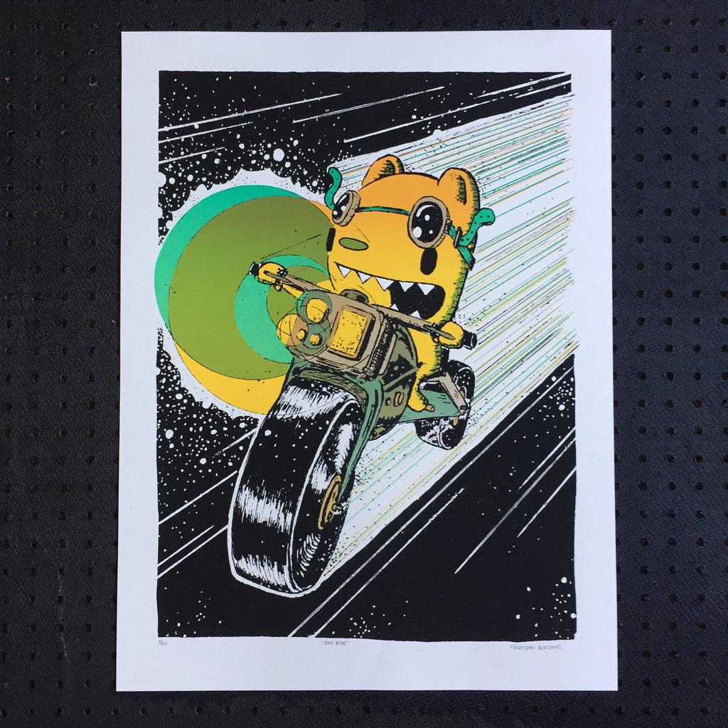 joyride screen print (18x24)