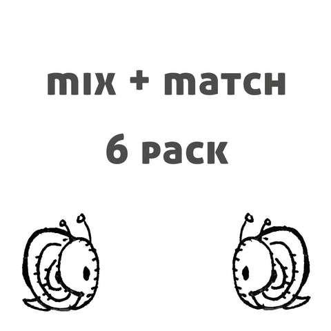 mix and match card 6 pack