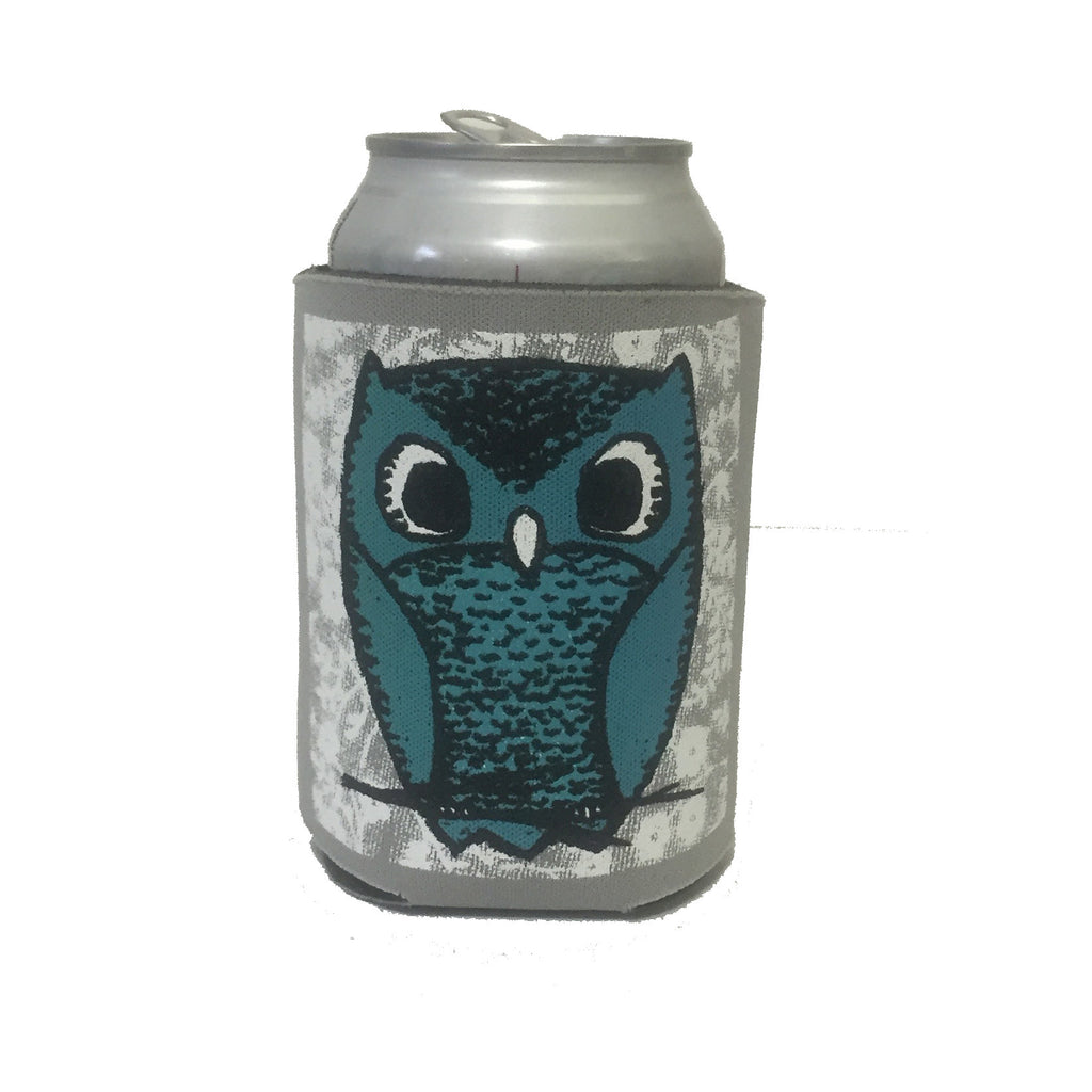 owl can coolie, owl koozie