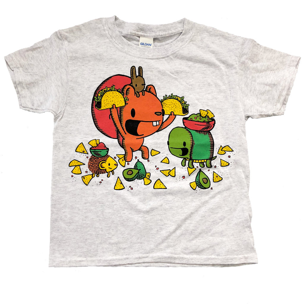 taco night youth t-shirt