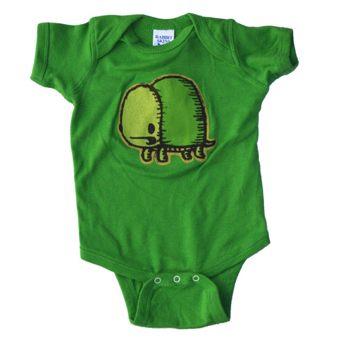 turtle baby one piece bodysuit