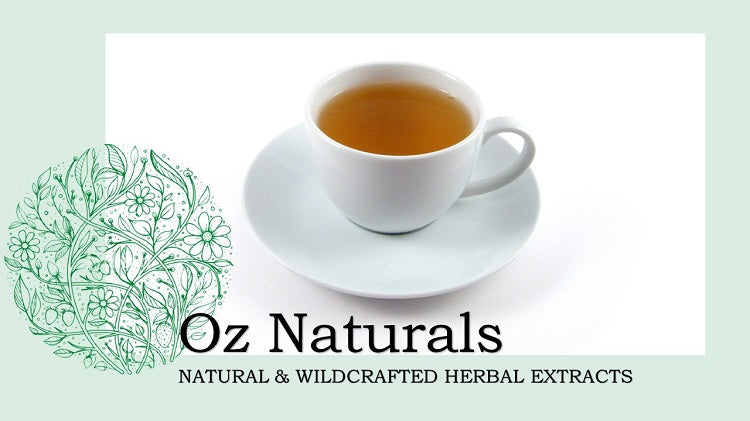 Oz Naturals | Natural & Wild Crafted Herbal Remedies | Tea for Living Well